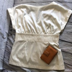 Forever 21 blouse beaded waist
